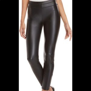 Rebecca Minkoff Chip Faux Leather Leggings